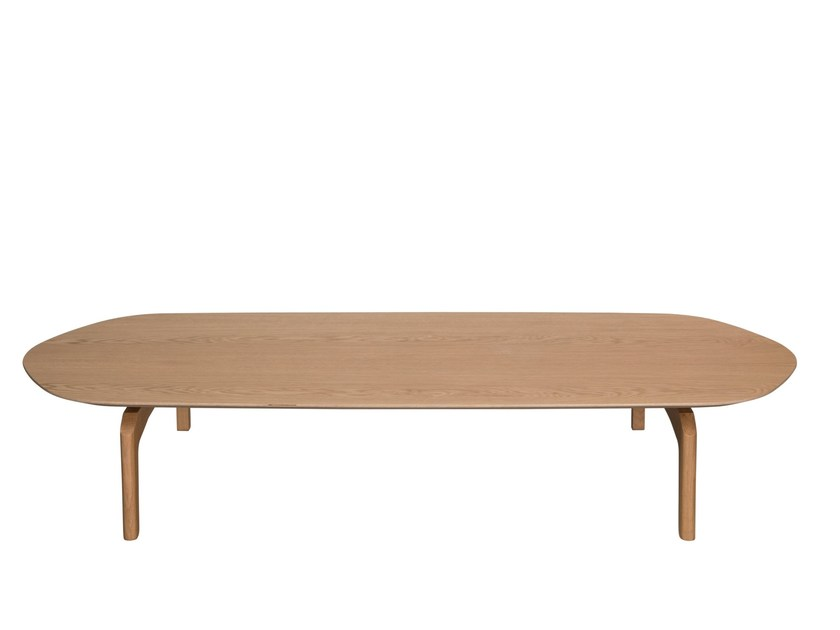 Oval wooden coffee table GABO | Coffee table - Palau