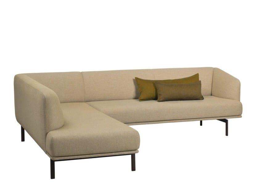 Corner fabric sofa GABO LOUNGE | Corner sofa by Palau