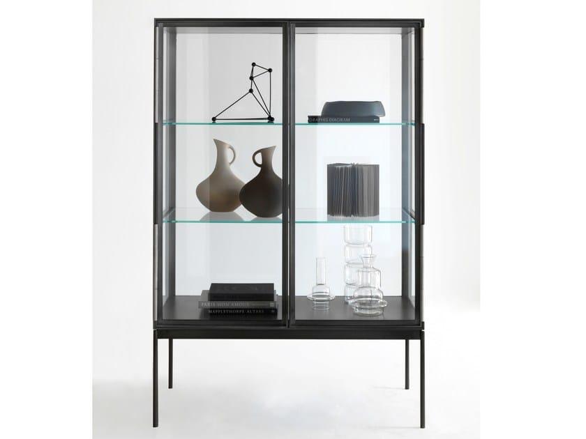 Vetrina in alluminio e vetro galerist lema for Vetrina in vetro