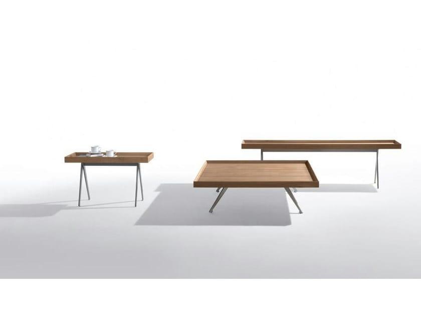 Steel and wood side table GALLIANO   Side table - Marac