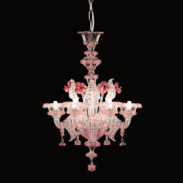 Classic style handmade glass chandelier GALLIANO | Murano glass chandelier - MULTIFORME