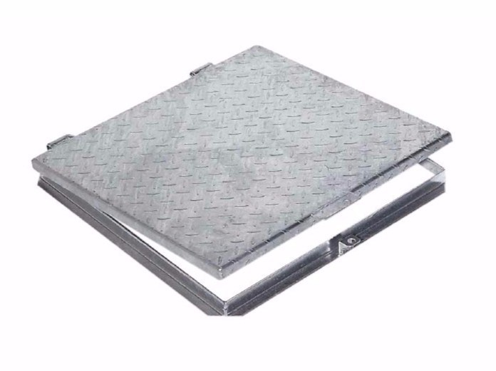 Manhole cover and grille for plumbing and drainage system GALVANIZED STEEL COVER by Dakota