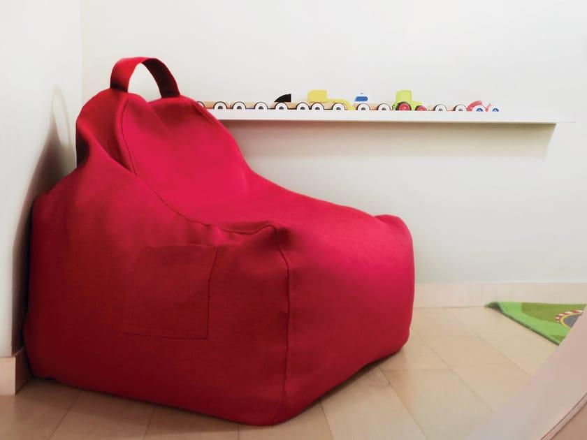 Fabric bean bag GAME NORDIC by Pusku pusku