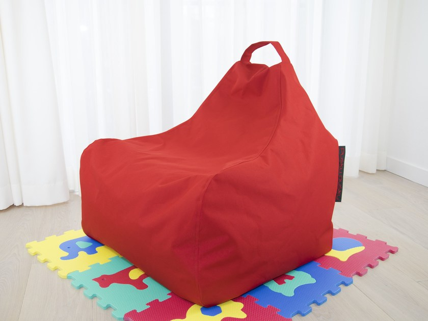 Upholstered polyester bean bag GAME OX - Pusku pusku