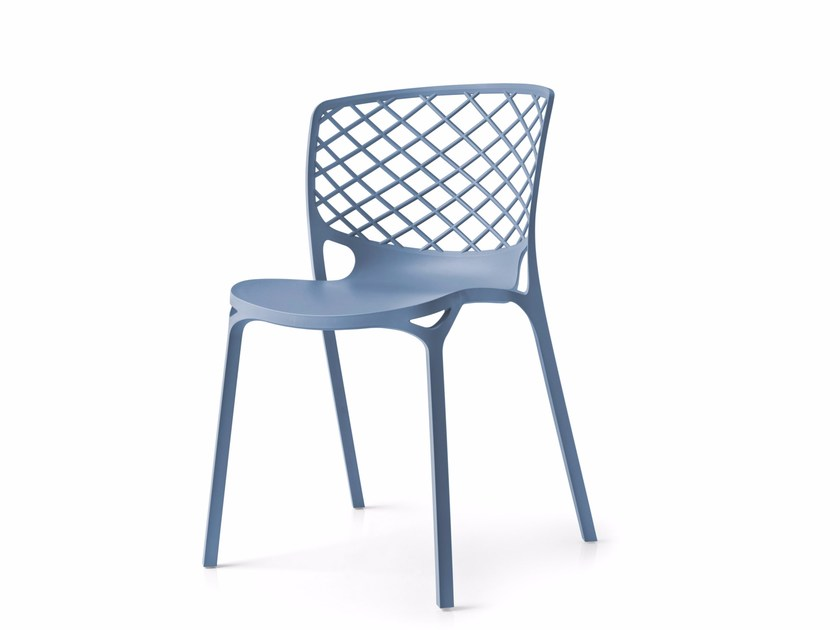 Stackable chair GAMERA - Calligaris