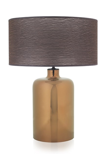 Contemporary style glass table lamp GARON TL by ENVY