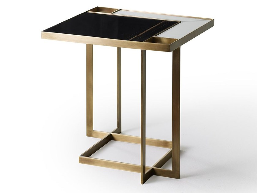 Square coffee table GARY | Coffee table by MARIONI