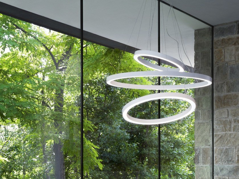 LED pendant lamp GAVIN - Olev by CLM Illuminazione