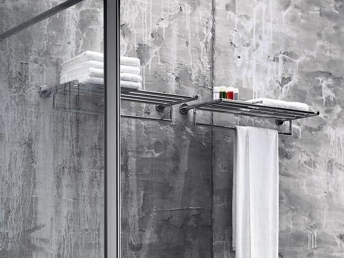 Metal bathroom wall shelf GEALUNA | Bathroom wall shelf by INDA®