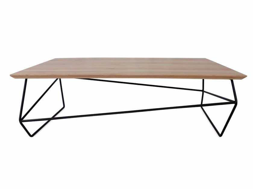 Contemporary style rectangular coffee table GEMMA | Rectangular coffee table - Altinox Minimal Design