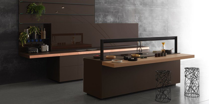 Genius Loci Copper Drawer By Valcucine Design Gabriele