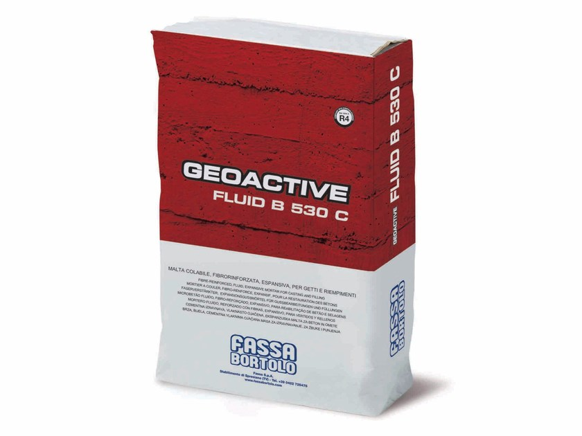 Renovation mortar and grout for renovation GEOACTIVE FLUID B 530 C by FASSA