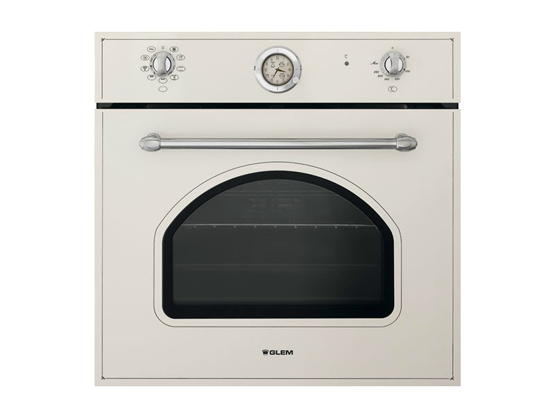 Built-in oven with triple glazed door GFN94PN | Oven by Glem Gas