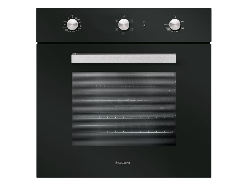Electric oven with triple glazed door Class A GFS52BK | Oven - Glem Gas