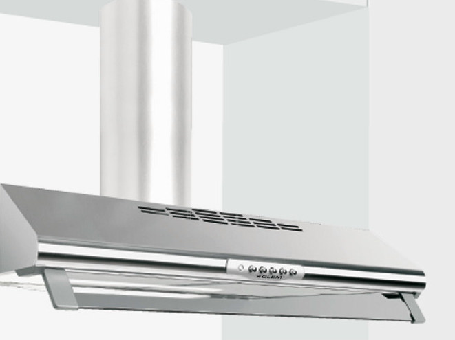 Wall-mounted cooker hood with integrated lighting GHC60IX | Cooker hood - Glem Gas