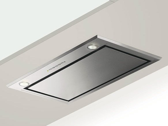 Ceiling-mounted built-in cooker hood GHFP77IX | Cooker hood - Glem Gas