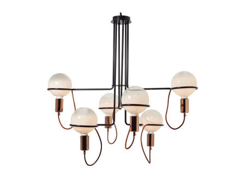 LED metal chandelier GHOST - Aromas del Campo