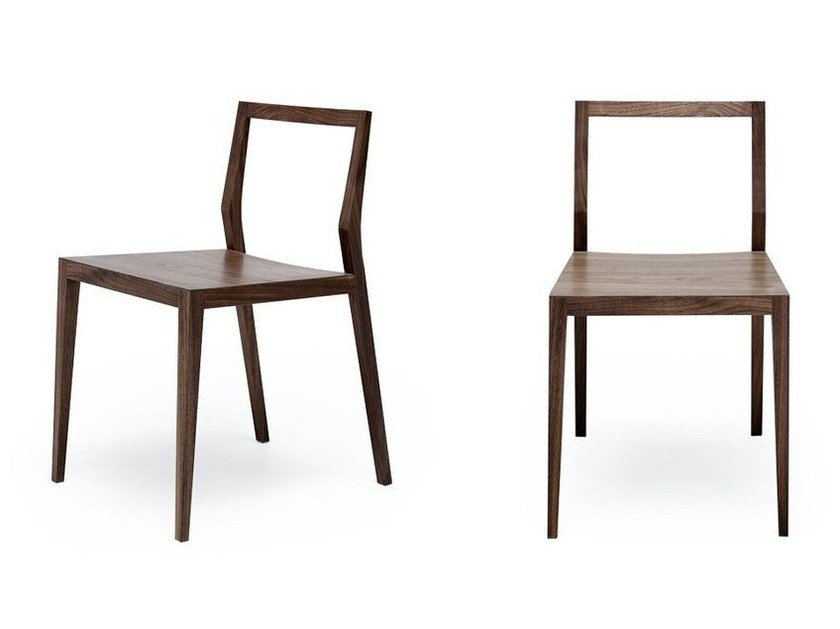 Open back wooden chair GHOST | Open back chair by MINT FACTORY