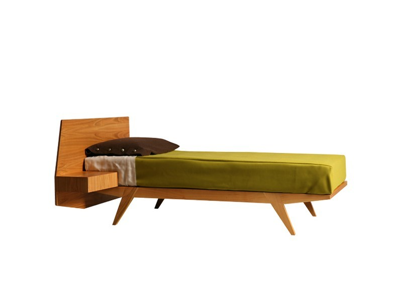 Cherry wood bed GIÒ | Single bed - Morelato