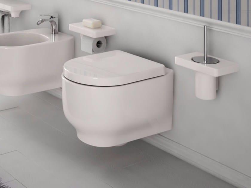 Ceramic toilet GIÒ | Wall-hung toilet - Hidra Ceramica