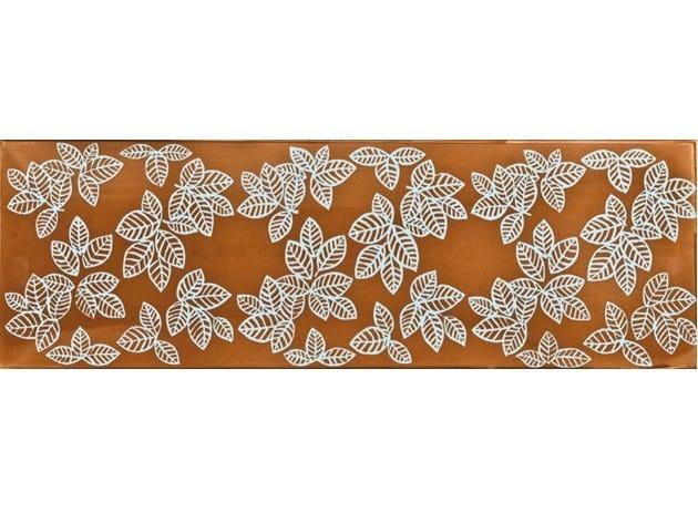 Rivestimento / pavimento in ceramica GIARDINI DI KLINGSOR AURANO - CERAMICA FRANCESCO DE MAIO