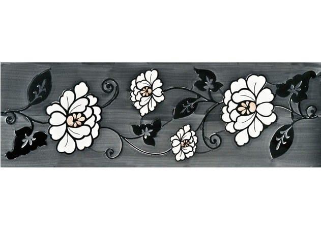 Rivestimento / pavimento in ceramica GIARDINI DI KLINGSOR CASARLANO - CERAMICA FRANCESCO DE MAIO