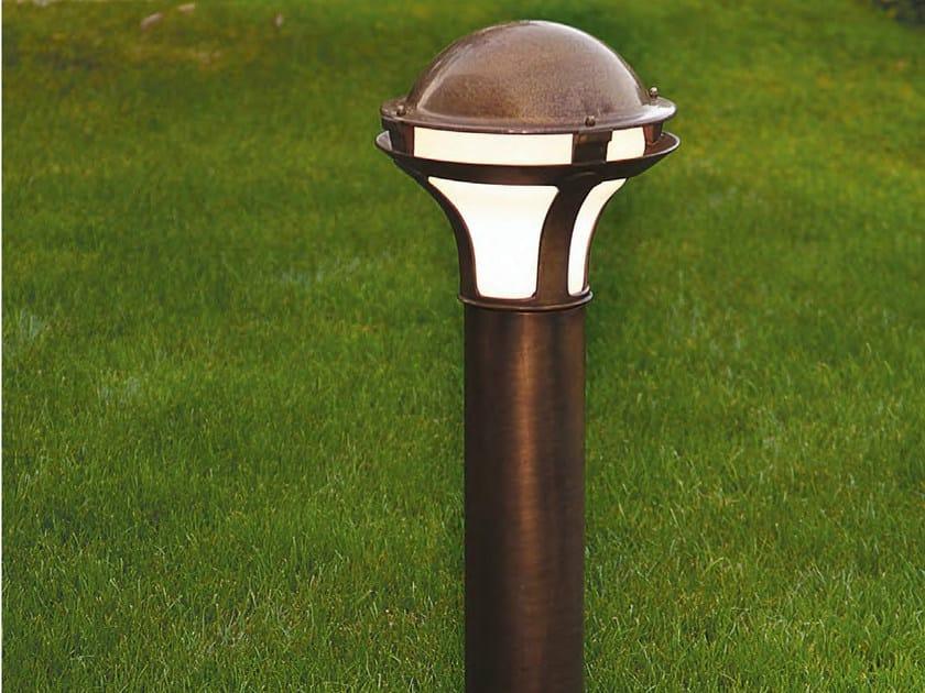 Garden metal bollard light GIARDINO | Garden bollard light - Aldo Bernardi