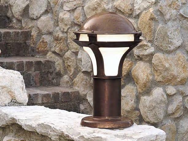Garden metal bollard light GIARDINO | Metal bollard light - Aldo Bernardi