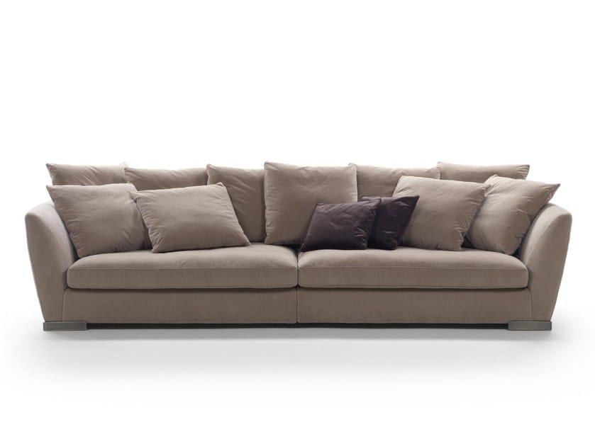 4 seater fabric sofa GINEVRA - FLEXFORM