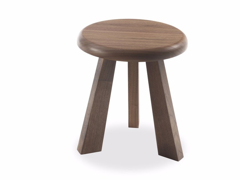 Round solid wood coffee table GIOBBE by Riva 1920