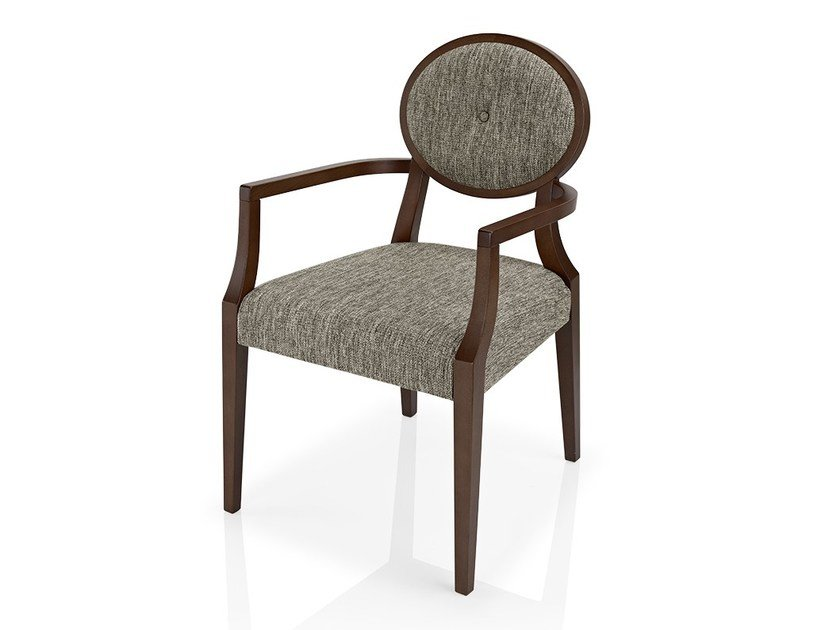 Fabric chair with armrests GIOCONDA | Chair by JMS