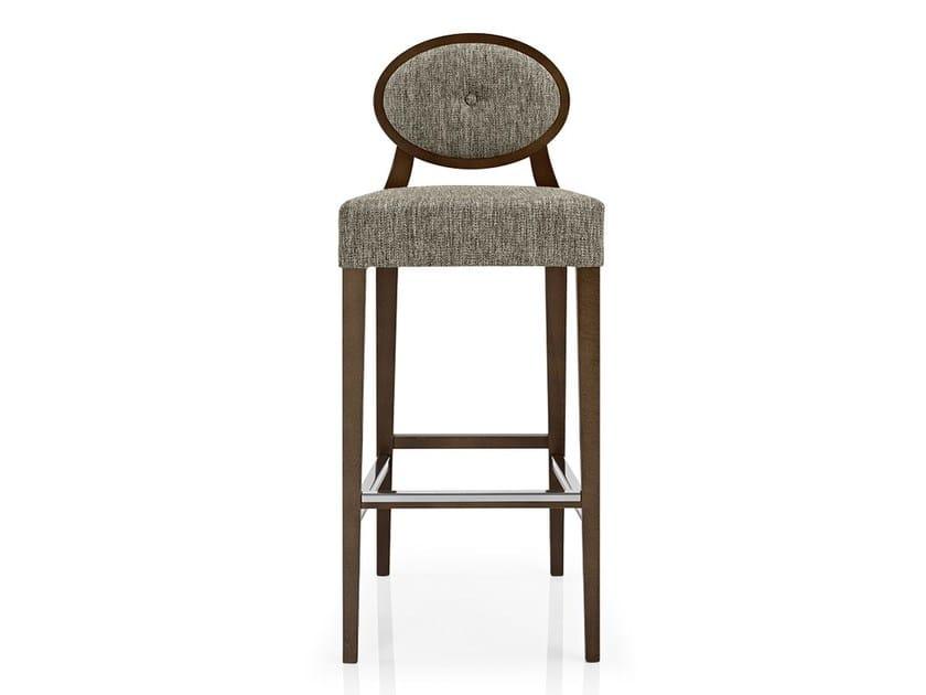 Fabric counter stool with footrest GIOCONDA | Counter stool - J. MOREIRA DA SILVA & FILHOS, SA