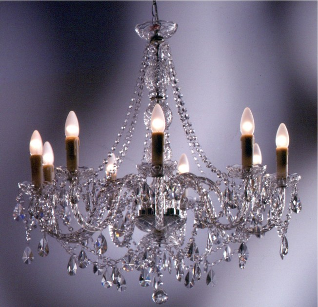 Glass chandelier GIOIELLO CRYSTAL CLEAR 9 - KARE-DESIGN