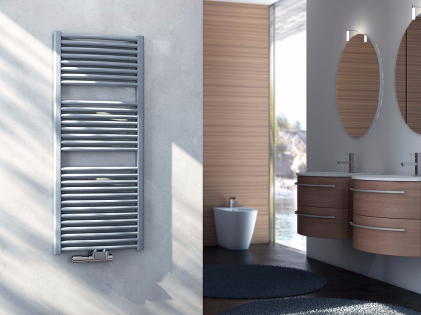Wall-mounted carbon steel towel warmer GIORGIA by CORDIVARI