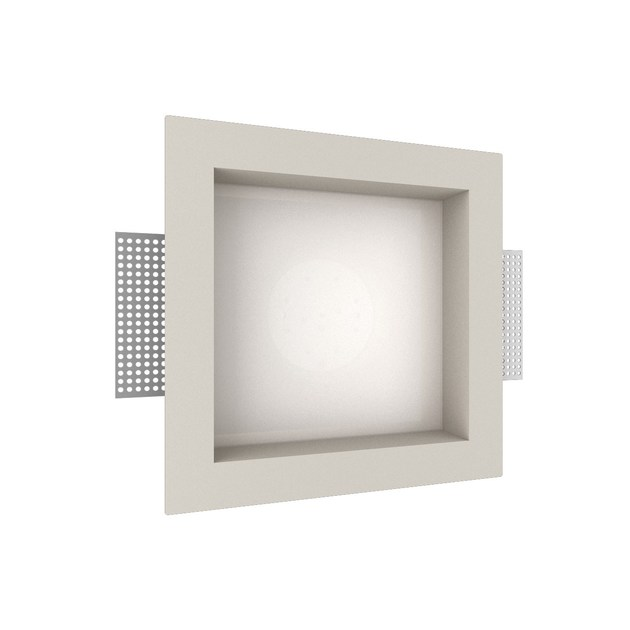 LED recessed gypsum spotlight GIOTTO 3 QUADRO by NEXO LUCE