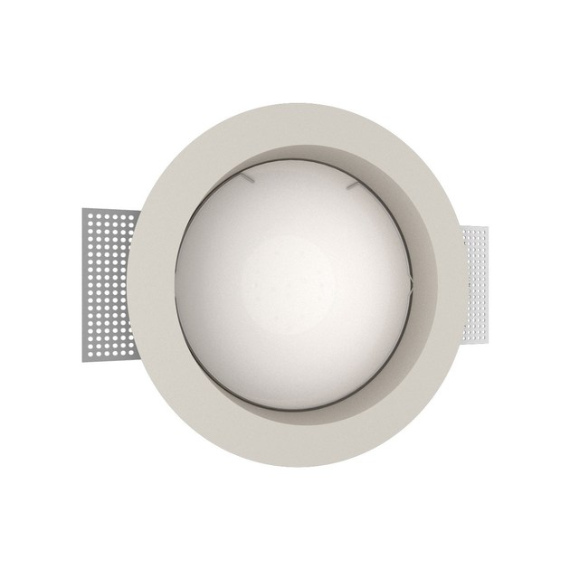 LED recessed gypsum spotlight GIOTTO 3 TONDO by NEXO LUCE