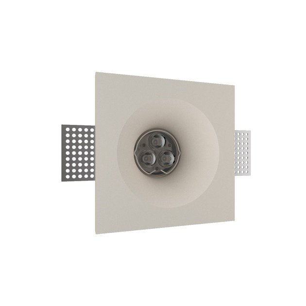 LED recessed gypsum spotlight GIOTTO 4 TONDO by NEXO LUCE