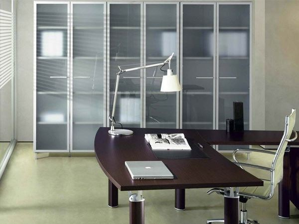 Tall office storage unit with hinged doors GIOVE G609 - Arcadia Componibili - Gruppo Penta