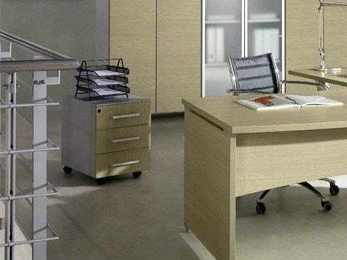 Wooden office drawer unit GIOVE GCM by Arcadia