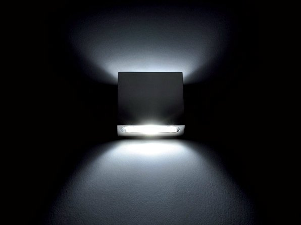LED direct-indirect light wall light GLADIS 2L - Quicklighting