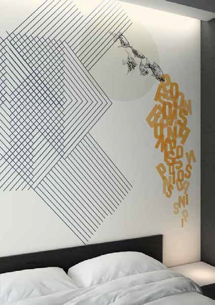 Customised Wallpaper With Acoustic Properties Glamacoustic