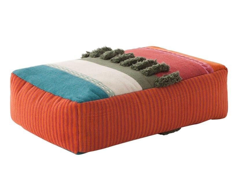 Upholstered pouf GLAOUI | Pouf - GAN By Gandia Blasco