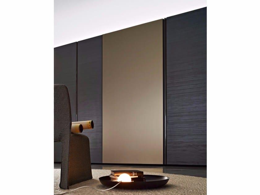 Wardrobe with sliding doors GLISS QUICK GLASS DOOR - MOLTENI & C.