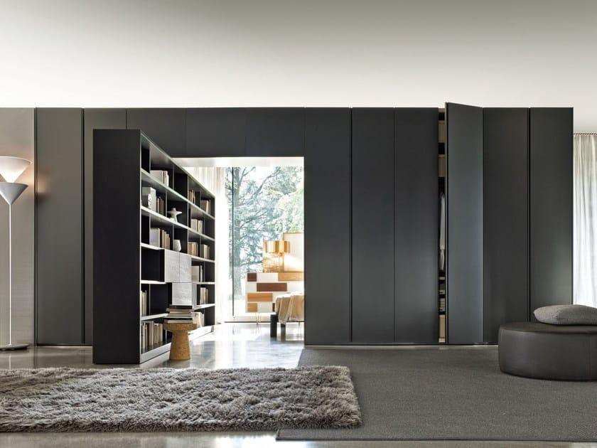 Wooden wardrobe GLISS QUICK HINGED - MOLTENI & C.