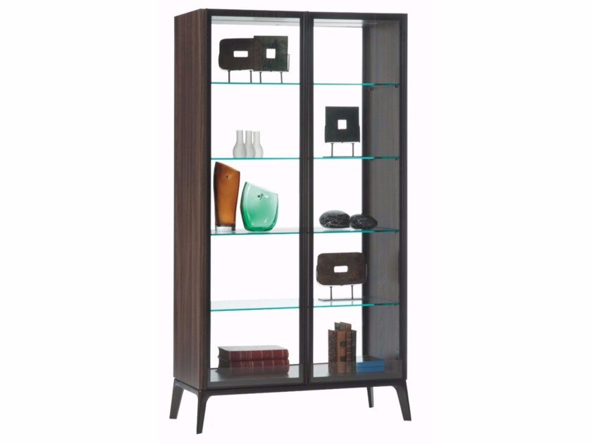 Display cabinet with integrated lighting GLOBUS - ROCHE BOBOIS