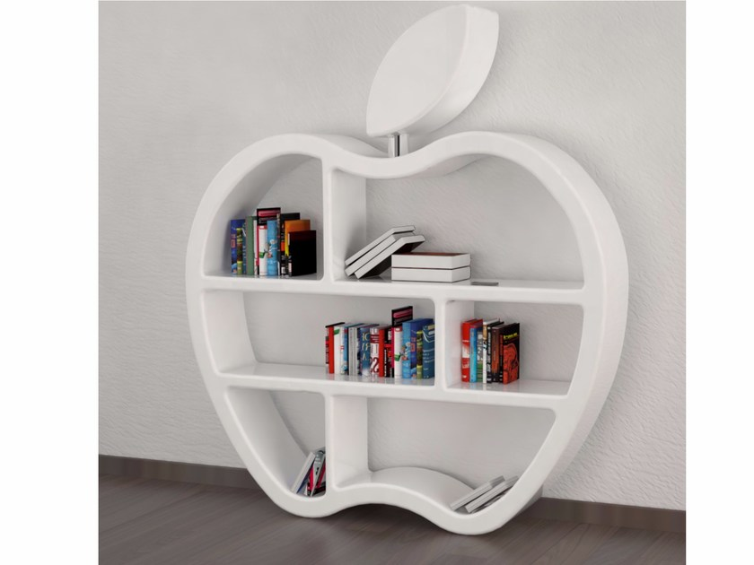 Open double-sided Adamantx® bookcase GLUTTONY - ZAD ITALY