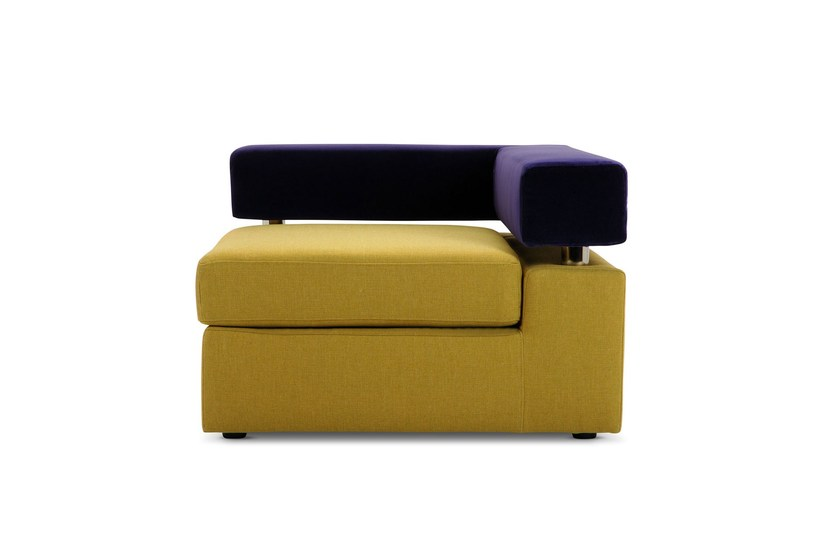 Upholstered guest chair GO | Armchair - Adrenalina