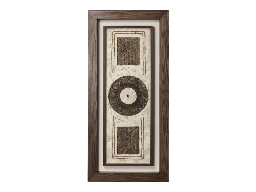 Decorative panel GOBI CIRCLE BROWN - KARE-DESIGN
