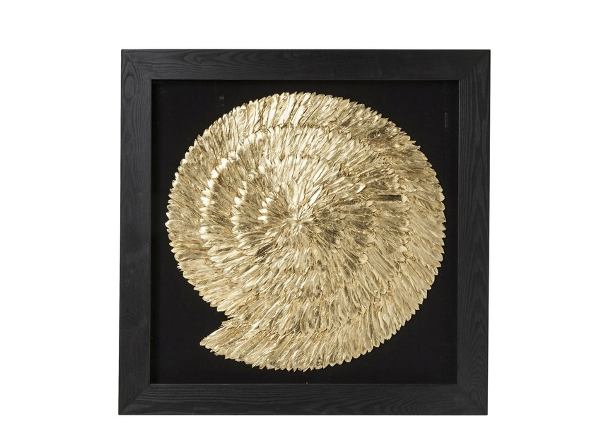 Decorative panel GOLDEN SNAIL - KARE-DESIGN