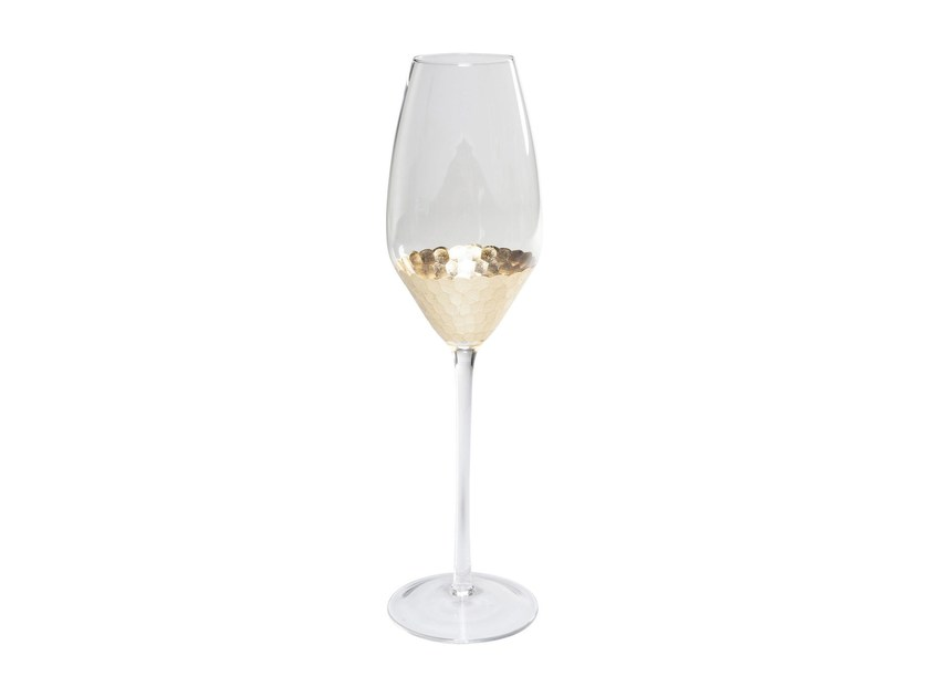 Glass champagne glass GOBI | Champagne glass - KARE-DESIGN